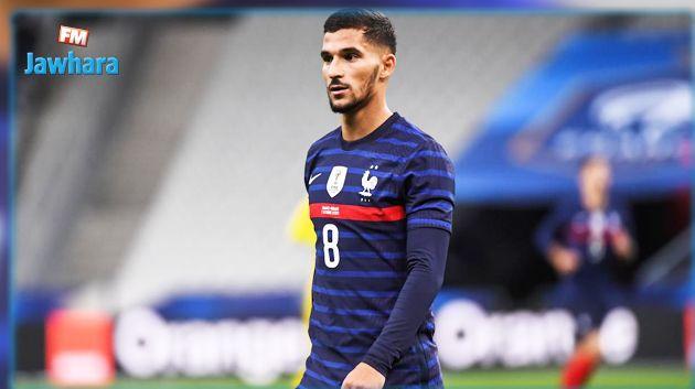 لاعب المنتخب الفرنسي و نادي ليون يوجه تحية لفريق