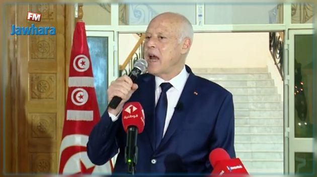 رئيس الجمهورية يتوجه بكلمة الى الشعب التونسي