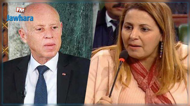 ليلى الحداد: خطاب الرئيس تضّمن نقاطا مهمة جدا