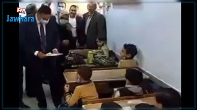 طفل لمسؤول مصري في أوّل يوم للعودة المدرسية: