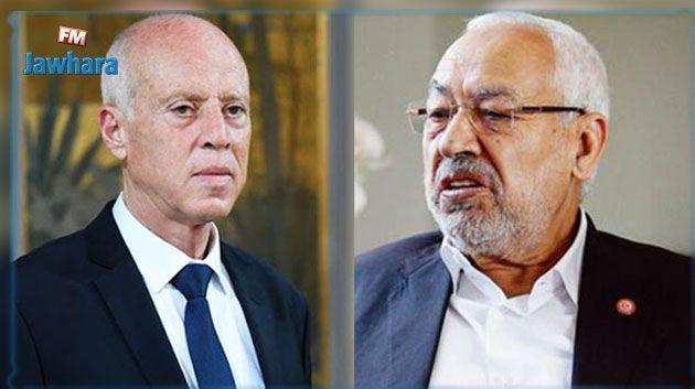 رئيس الجمهورية يُقيل رئيس  وأعضاء ديوان راشد الغنوشي