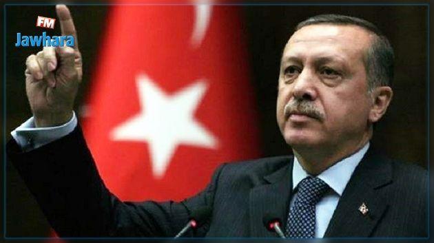 إردوغان يهدد بطرد سفراء 10 دول