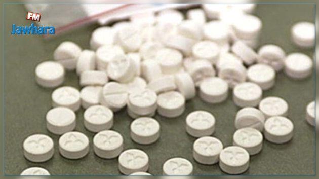 الكاف: حجز 6000 قرص مخدر