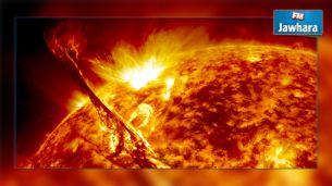 Nasa : Des nouvelles images d'une éruption solaire filmée en 4K