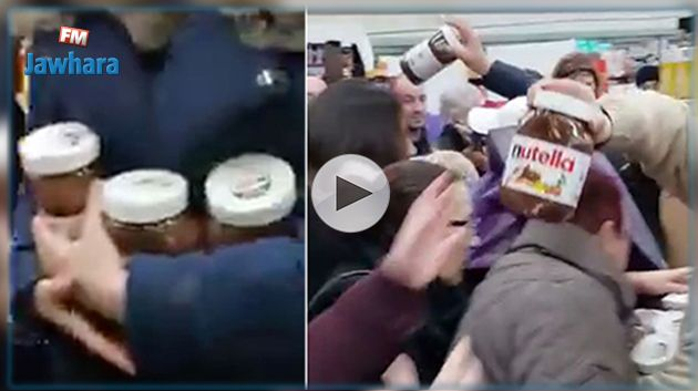 France : Des scènes d'émeutes pour des pots de Nutella en promo