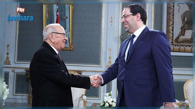 Le président de la République s'entretient avec le chef du gouvernement