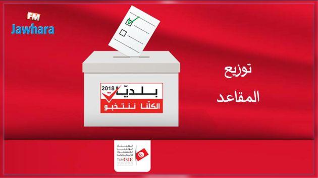 Municipales 2018 : Répartition des sièges