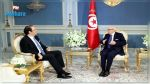 Caid Essebsi s'entretient avec Youssef Chahed