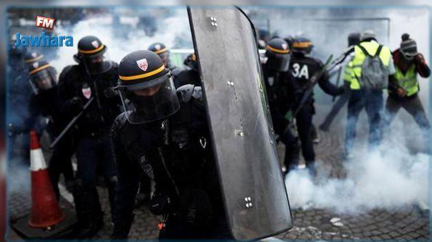 Gilets jaunes : Violents heurts à Paris, 20 blessés et 115 interpellations