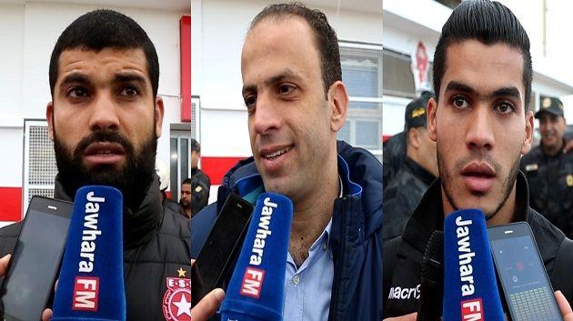 ESS - CS Sfaxien : Les déclarations d'après match