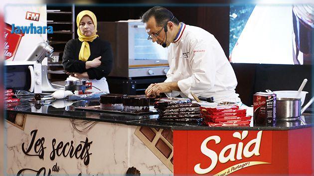 Saïd Mille Recettes et le champion du monde de pâtisserie Pascal Molines subliment le chocolat de couverture