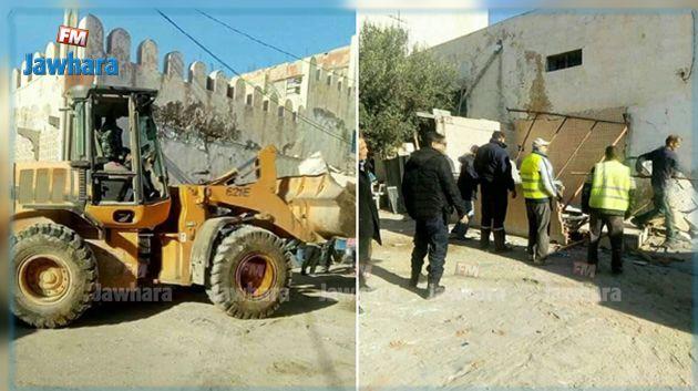 Monastir : Exécution de 10 ordres de démolition Monastir-execution-de-10-ordres-de-demolition