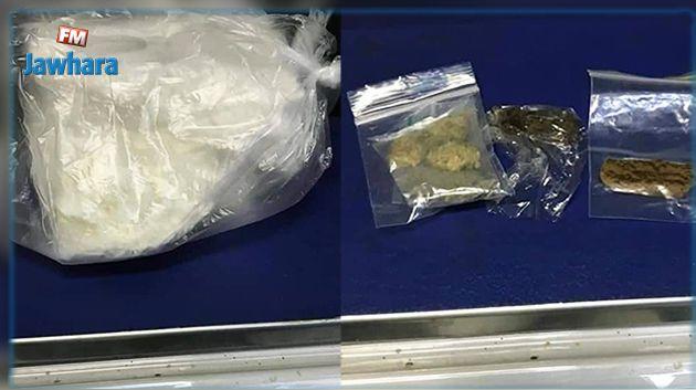 Aéroport de Tunis - Carthage : Saisie de 650 grammes de cocaïne