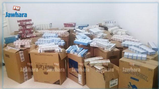 Contrebande : Saisie de 23200 paquets de cigarettes