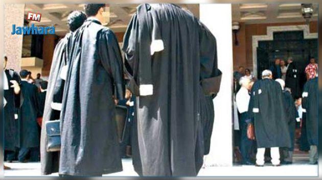 Les avocats en grève générale