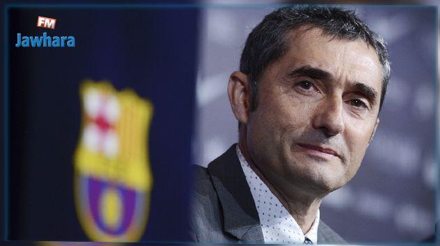 L'entraîneur Ernesto Valverde prolonge avec le FC Barcelone