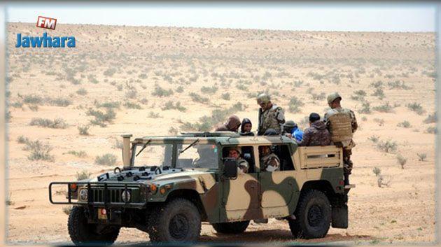 Zone militaire tampon : Sept africains interceptés