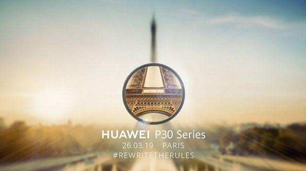 Huawei P30 et P30 Pro : Suivez la conférence en direct