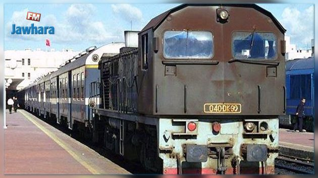 Déraillement d'un train de voyageurs à Tunis