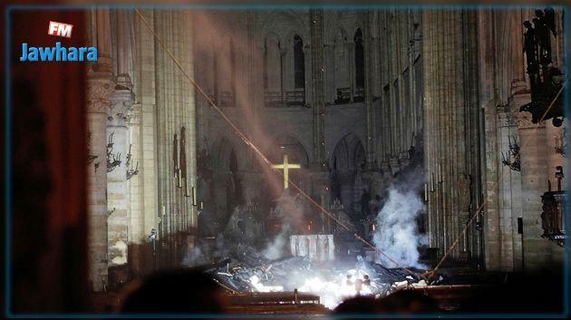 Incendie de Notre-Dame de Paris : L'ensemble du feu est éteint
