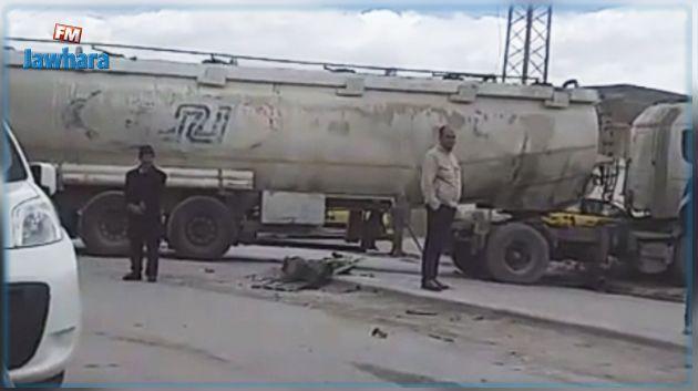 Collision entre un poids-lourd et un bus de transport public : 16 blessés