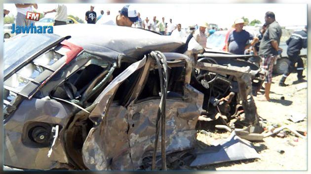 Jendouba : Quatre blessés dans un accident de la route