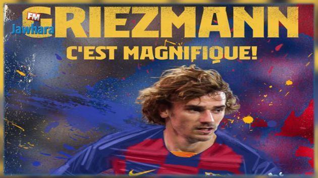 Le FC Barcelone annonce la signature d'Antoine Griezmann