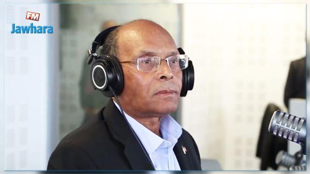 Présidentielle : Moncef Marzouki dépose sa candidature