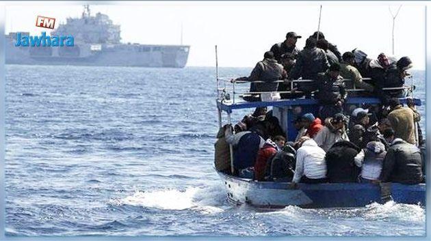 Kerkennah : Une tentative d'immigration clandestine avortée, 94 migrants arrêtés