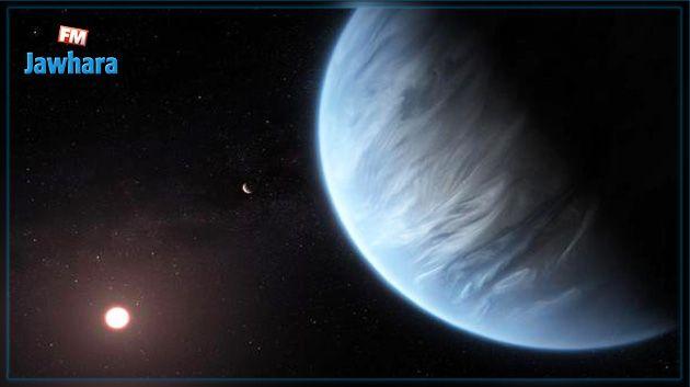 De l'eau découverte dans l'atmosphère d'une exoplanète située dans la zone habitable de son étoile