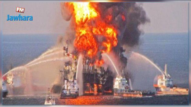 Explosion à bord d'un pétrolier iranien au large des côtes saoudiennes