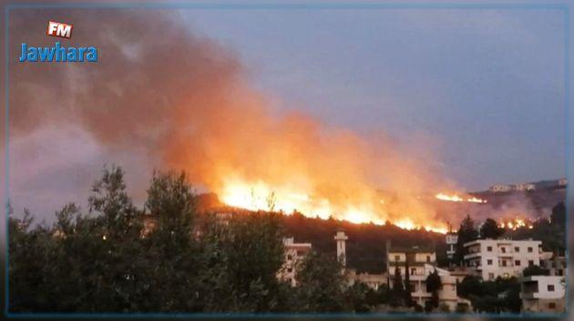 Le Liban fait face à de gigantesques incendies