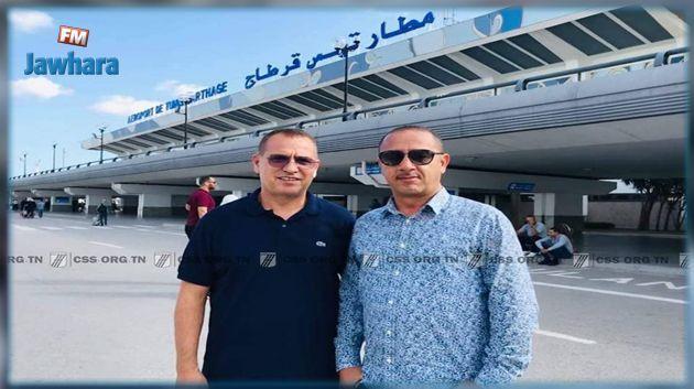 CS Sfaxien : L'entraîneur Fethi Jebel arrive à l'aéroport de Tunis-Carthage