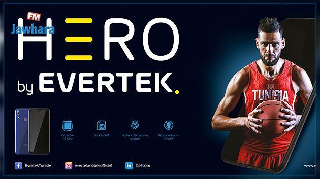 Lancement du nouveau smartphone HERO by Evertek