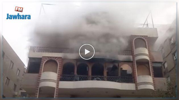 Le père d'Iheb Taoufik décède dans l'incendie de sa maison