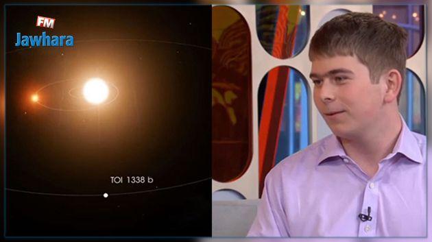 A 17 ans, il fait un stage à la NASA et découvre une planète