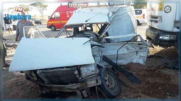 Kasserine: Un mort et deux blessés dans un accident de la circulation