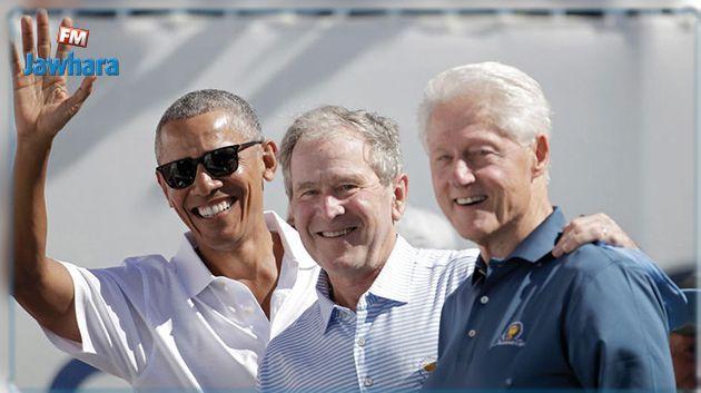 Etats-Unis: Clinton, Bush et Obama prêts se faire vacciner contre le Covid-19 devant les caméras