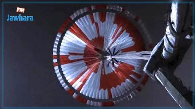 Mars : Un  message caché de la NASA inscrit sur le parachute de Perseverance et décrypté par un Français