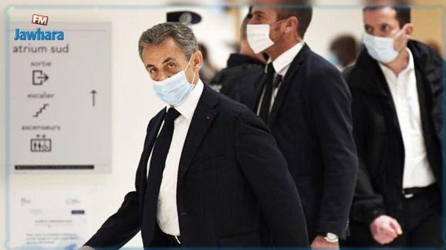 France-  Affaire des écoutes: Nicolas Sarkozy condamné à trois ans de prison, dont deux avec sursis, pour corruption et trafic d'influence
