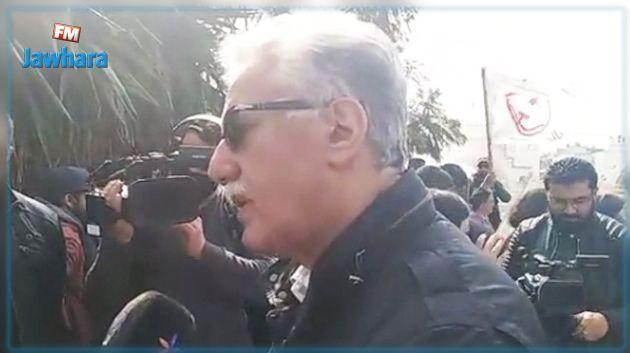 Hamma Hammami : Le choix de la date de la manifestation du Parti des Travailleurs n'est pas le fruit du hasard