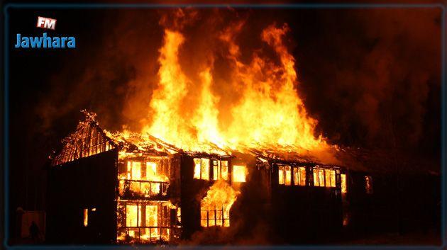 Jendouba : Une maison ravagée par les flammes