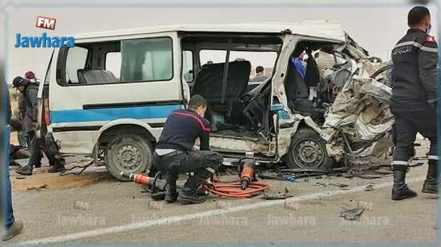 Sfax : Un accident de la route fait 4 morts et 6 blessés