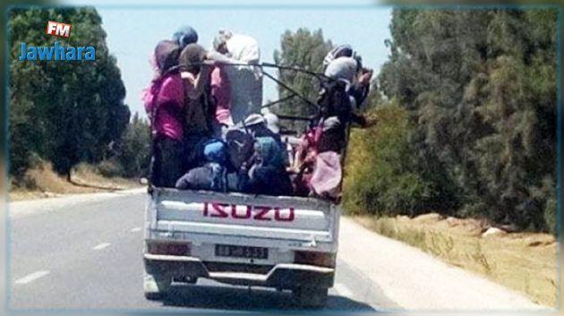 Bizerte : Trente ouvrières agricoles blessées dans un accident de la route