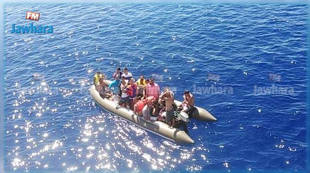 Kelibia : Naufrage d'un bateau des migrants irréguliers