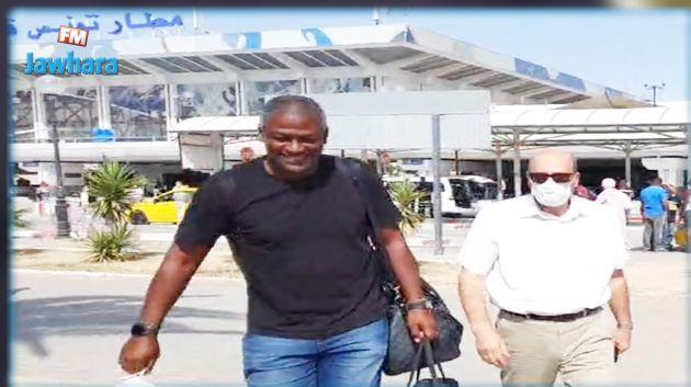 Radhi Jaïdi arrive à l'aéroport Tunis-Carthage