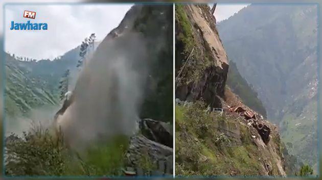 Un glissement de terrain fait au moins un mort et des blessés dans le nord de l'Himalaya