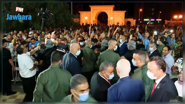 Pourquoi la Garde présidentielle a empêché Kais Saied de s'approcher des citoyens à Sidi Bouzid ?